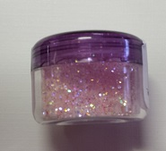 Pretty pink,Microfine glitter, Beautiful glitter 5gm  Min buy 3